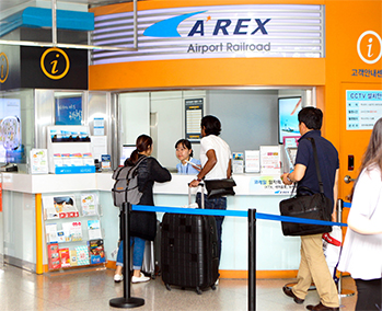 Mua vé tàu AREX đi từ sân bay Incheon về trung tâm Seoul