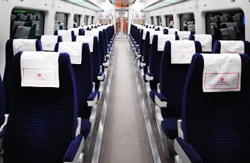 Tàu Airport Express đi từ sân bay Incheon về trung tâm Seoul