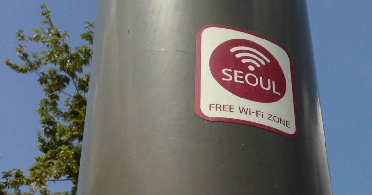 SỬ DỤNG WIFI MIỄN PHÍ Ở SEOUL
