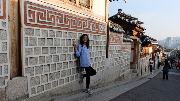Đường đẹp nhất Bukchon Hanok Village
