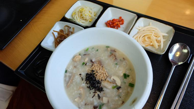 Cháo truyền thống Hàn Quốc Migabon