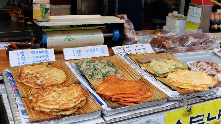 Ăn hải sản ở Busan